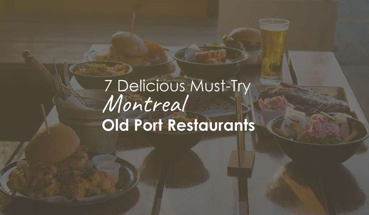 Even locals love a visit to Old Montreal. The historic city is full of sightseeing opportunities, museums, shops and, of course, restaurants! Here are 7 must-try Old Montreal restaurants, ranging from decadent and exclusive, to relaxed and casual.