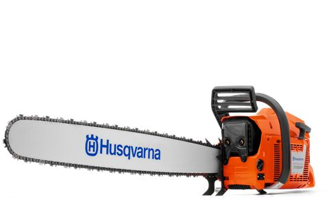 Our largest chainsaw is one of the most powerful in the world. The primary applications for the 3120 XP® is extreme logging, portable saw mills, and stump work. This saw is designed to pull the chain on our longest bars-- up to six feet!