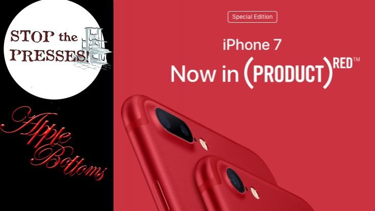 Apple New Iphone 7 Project Red Edition and New IPad News