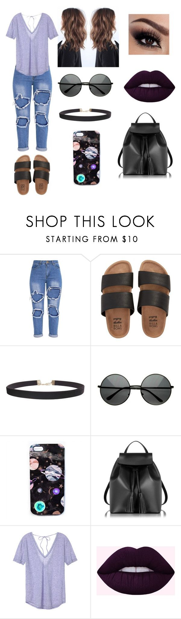 """""""Untitled #70"""" by maria2thrill ❤ liked on Polyvore featuring Billabong, Humble Chic, ZeroUV, Nikki Strange, Le Parmentier and Victoria's Secret"""