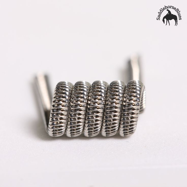 Originated by blueeyedgoon83, the Tsuka is not a coil you'll be able to duplicate at home unless you're a considerably experienced builder. Ribbon is expertly twisted so that it lays flat at the edges of the cores but stands vertically where it crosses them. Deep pockets hold a lot of juice, giving you loads of flavour and dense vapour production. These coils can be used for a single coil or dual set-up dependent on your preference.