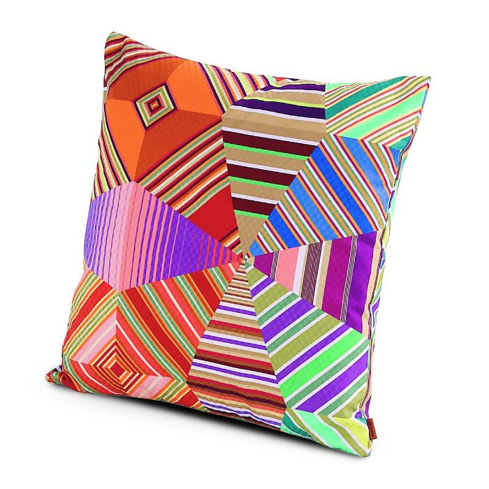 "Designed by Rosita Missoni Dimensions: 16""W x 16""L (size without pillow insert) Materials: 100% cotton Made in Italy"