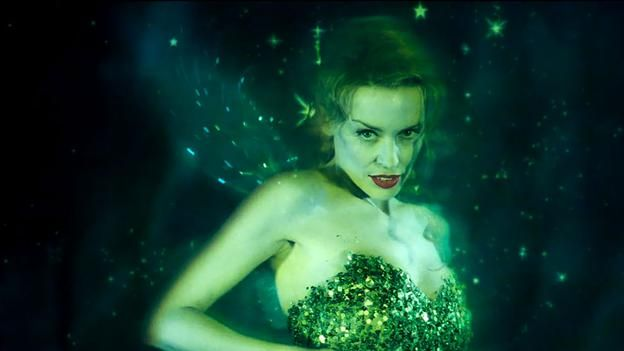 Fairy tale Australian pop star Kylie Minogue played absinthe's personification, the Green Fairy, in Baz Luhrmann's Moulin Rouge, set at the turn of the 20th Century. (20th Century Fox)