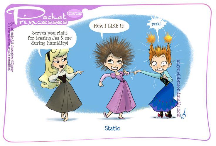Pocket Princesses 132: Static Please reblog, do not repost Facebook page