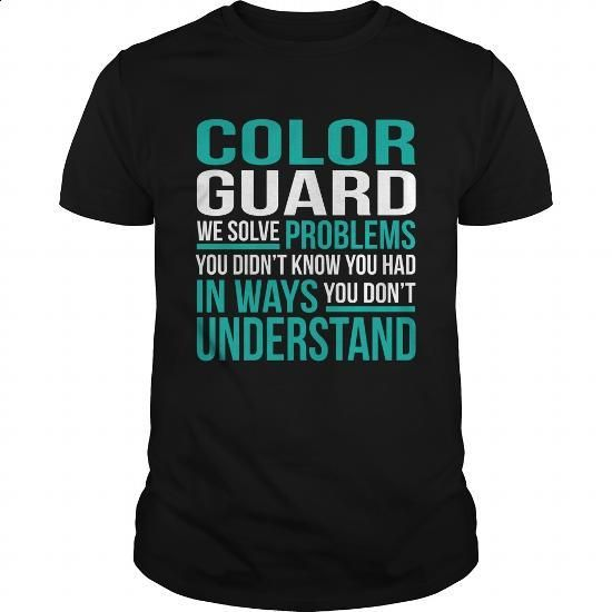 COLOR-GUARD #tee #T-Shirts. ORDER NOW => https://www.sunfrog.com/LifeStyle/COLOR-GUARD-132671259-Black-Guys.html?60505