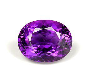 purple stones was misidentified as an emerald