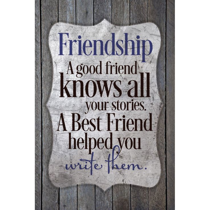 Enhance your country decor with the New Horizons wood plaque, made to look like reclaimed wood. The plaque features an inspirational sentiment, 'Friendship - a good friend knows...' Each plaque is ind