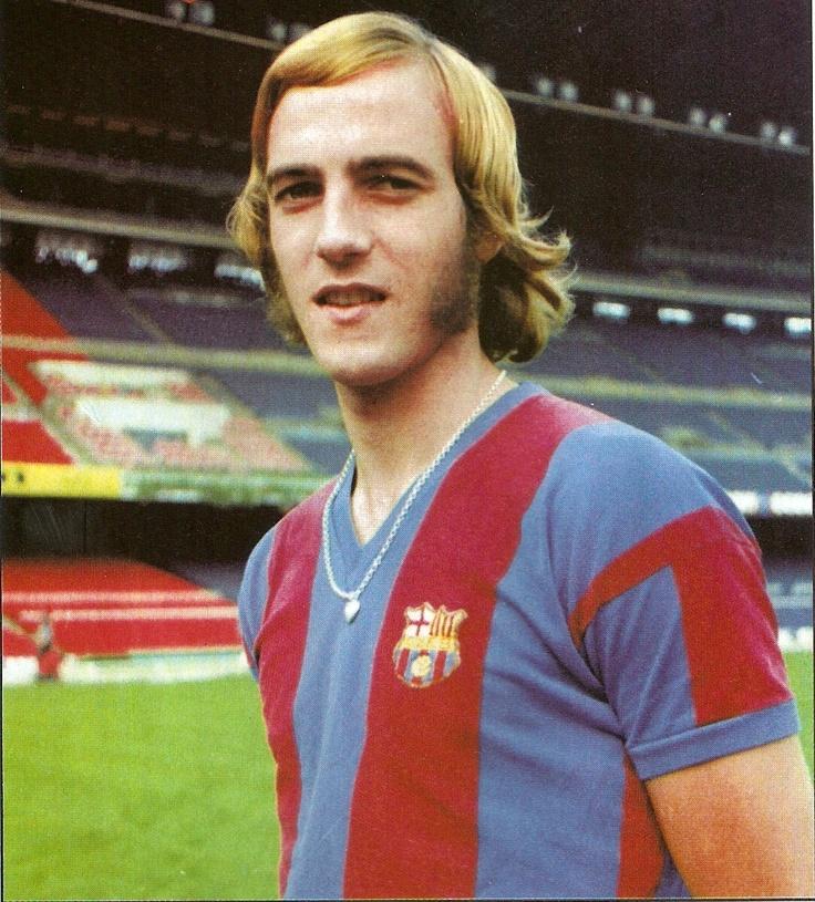 Johan Neeskens - RCH, Ajax, Barcelona, New York Cosmos, Groningen, Netherlands.