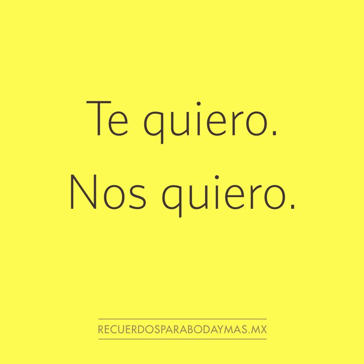 ♥ Te quiero. Nos quiero. ♥ #frases #celebres #amor Famous Quotes, Best Quotes, Cute Quotes, Funny Quotes, What Love Means, Something To Remember, Funny Phrases, Interesting Quotes, More Than Words