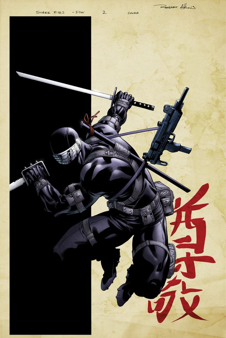 SnakeEyes 2 Cover Variant by *spidermanfan2099