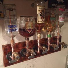 The Server – Single Bottle Liquor Dispenser