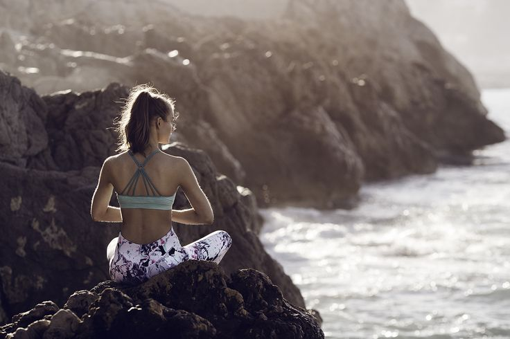 A quiet place can help you find inner peace. Yoga is a great supplement to more intensive types of exercise | Gina Tricot Active Sports | www.ginatricot.com | #ginatricot
