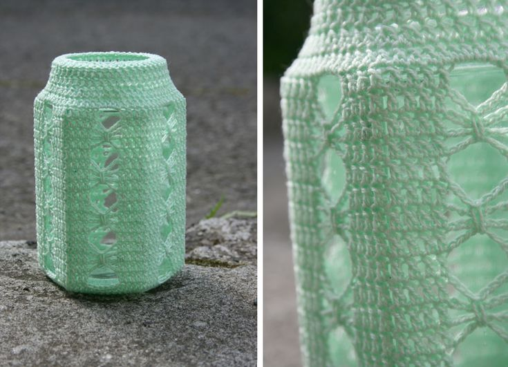 Crocheted Jar | Explore eLÍNeLLAN's photos on Flickr. eLÍNeL… | Flickr - Photo Sharing!