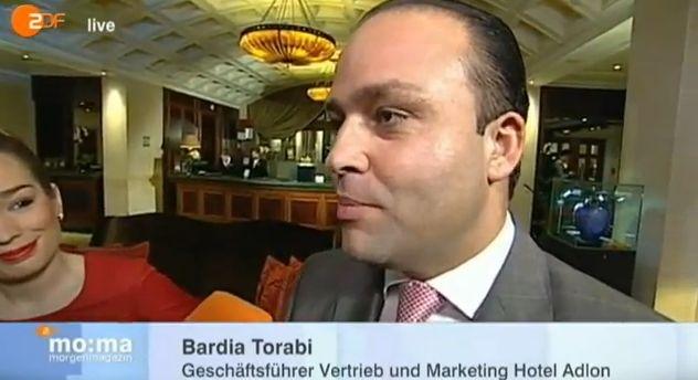 Hinter den Kulissen des Hotel Adlon - Aktueller Bericht des ZDF-Morgenmagazin aus dem Hotel Adlon Kempinski Berlin  Jetzt noch einmal ansehen: www.hoteliertv.net
