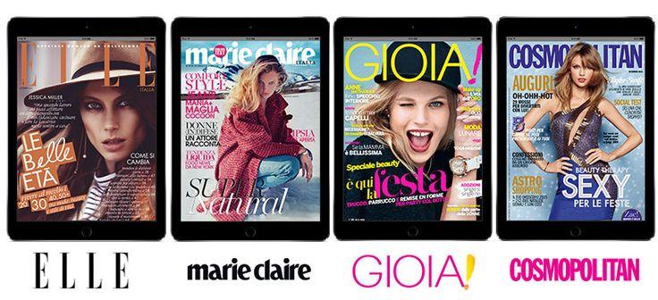 Fashion Gold Un anno di abbonamenti digitali App a 4 prestigiosi magazines femminili per scoprire le ultime tendenze su moda, beauty e shopping. E il prezzo lo scegli tu!