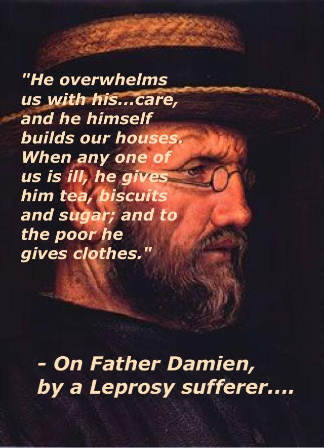 St. Damien...