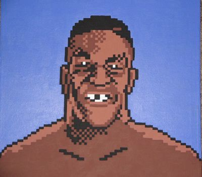 pixelated mike tyson
