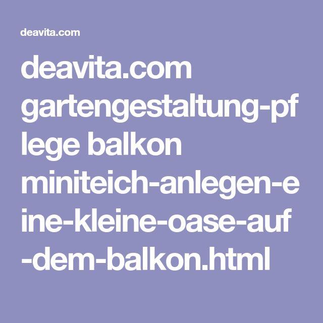 deavita.com gartengestaltung-pflege balkon miniteich-anlegen-eine-kleine-oase-auf-dem-balkon.html