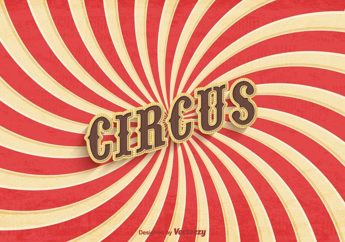 Free Old Circus Poster Vector                              …