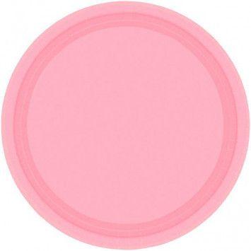 Dinner Plates, Carnation Pink