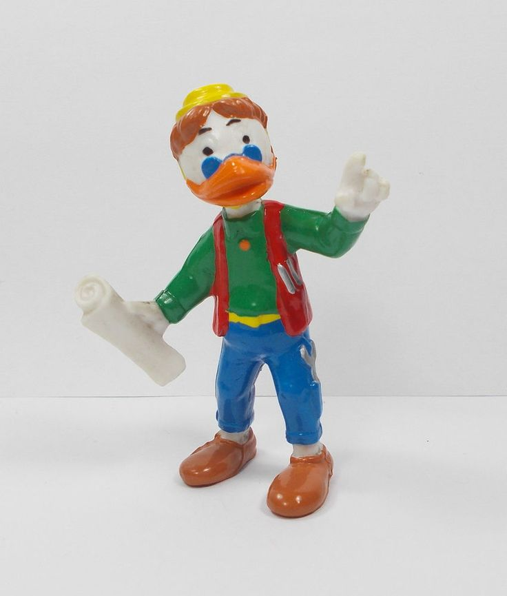 (1) Donald Duck - Humperdink Duck Mini Toy Figure - Disney Cake Topper Bullyland