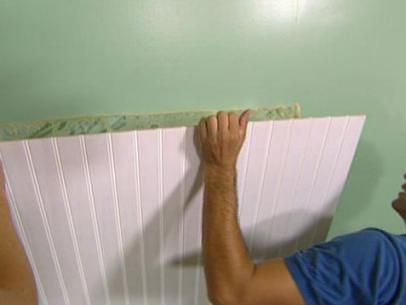 How to Install Beadboard Wainscoting | how-tos | DIY