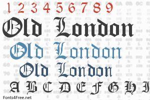 Old London Font