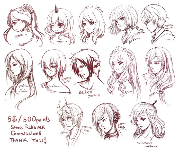 anime girl hair style 42 best images about anime hair styles on 3128 | 9cc7c7c42796711786b5446f4ddcf0cd manga drawing drawing faces