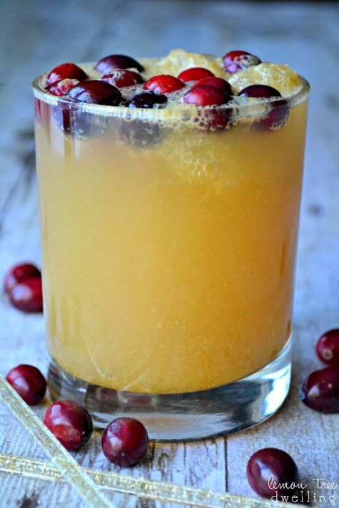 Holiday Brandy Slush - perfect for your Christmas gatherings!