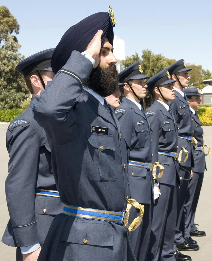 Sikhs Serving in Canadian Air Force.