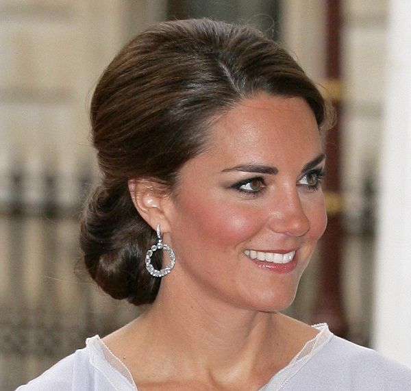 Wedding Hairstyle Kate Middleton : 256 best wedding hair: low chignons images on pinterest