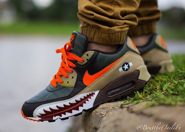 Nike Air Max cuztomised by Juampi*   Supernatural Style