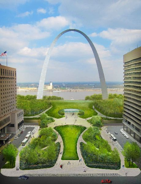 Construction on the Arch grounds will move close the museum (temporarily) and move the visitors center to another part of the park.
