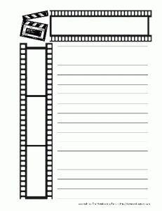 free film worksheets for kids - Cerca amb Google