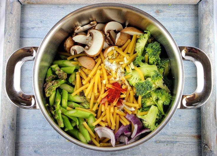 Gaumenthrill: Der Frühling aus einem Topf: One-Pot-Pasta