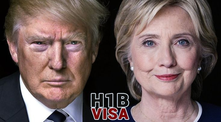 Who can Provide a Solution to the H1B Visa Massacre – Trump or Clinton?