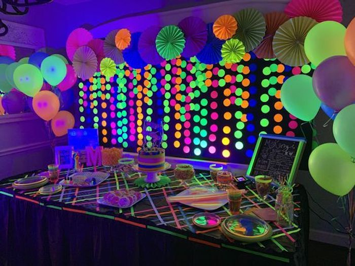 Pin On Glow In The Dark Party