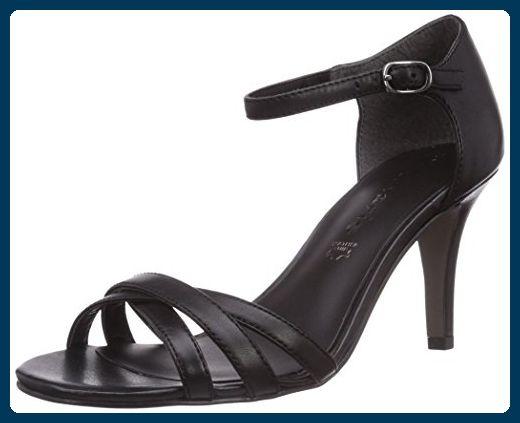 Tamaris 28336, Damen Knöchelriemchen Sandalen, Schwarz (Black 001), 40 EU (6.5 Damen UK) - Sandalen für frauen (*Partner-Link)