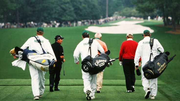 Gary Player, Arnold Palmer and Jack Nicklaus = Masters of Masters !, #golf #jack_nicklaus