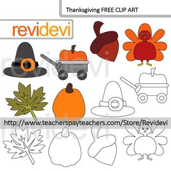 Thanksgiving free resource clip art. This thanksgiving clip art freebie set includes pumpkin graphics, turkey, hat, and more fun graphics. Great for thanksgiving holiday and autumn themed projects.YOUR RATING and COMMENT is highly appreciated.If you like this set, please SHARE this post, or PIN on your boards.The collection is suitable for school and classroom projects such as for bulletin board, learning printable, study worksheet, classroom decor, craft materials, activities and games…