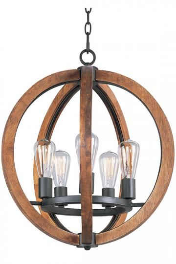 thistle singletier chandelier