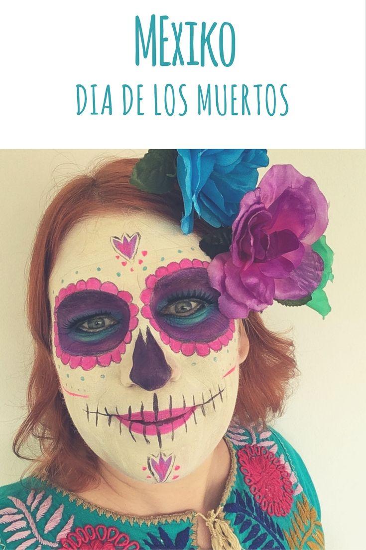 Alternative zu Halloween: Dia de los Muertos (Tag der Toten / Day of the Dead) in Mexiko. In Playa del Carmen auf der Halbinsel Yucatan erlebte ich es ab dem 31. Oktober drei Tage lang. Ich erzähle euch im Reiseblog von dem fröhlichen Fest, das an die Verstorbenen erinnert und das Leben feiert.