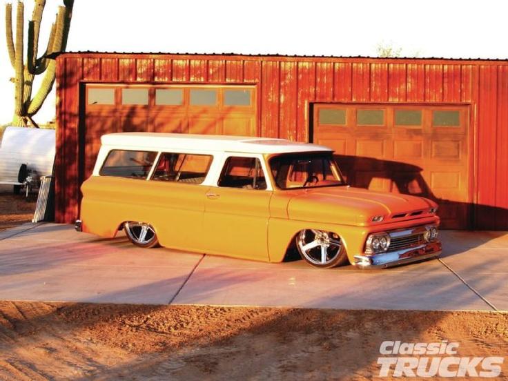 '66 Chevy Suburban: Chevrolet Suburban, Cars Ideas, Captiv Cars, Chevy Suburban, Cars Trucks Jeeps Motorcycles, 66 Chevy, Hotrods, Nice Riding, Gabby Riding