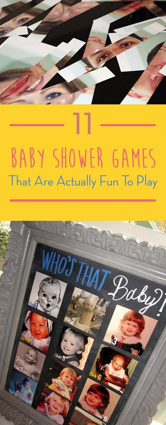 The hardest part of arranging a baby shower is thinking of fun amusements and games that haven't been done a thousand times over. Here's our some creative baby shower games that are actually fun to play.