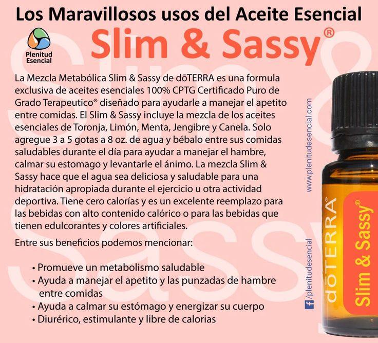 Los Maravillosos Usos del Aceite Esencial Slim&Sassy