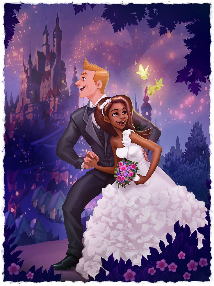 Sooo awesome if there was another interracial Disney couple.  I can only remember Pocahontas and Esmerelda's love stories being interracial, can't remember any more...