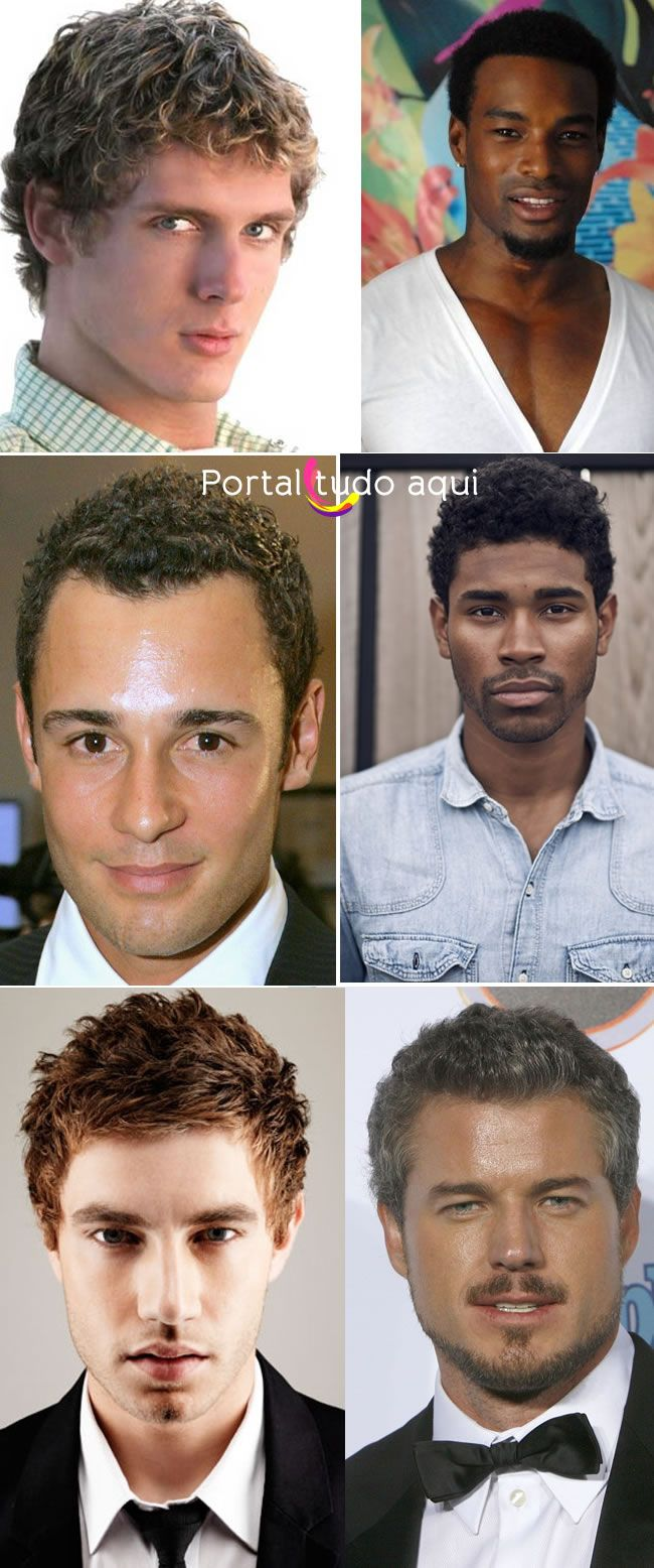 Os 6 melhores cortes de cabelo encaracolados para homens   Portal Tudo Aqui