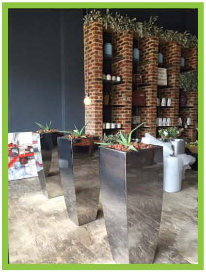 Contemporary Mirror Planters