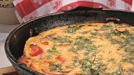 Испанский омлет. Пошаговый рецепт с фото на Gastronom.ru