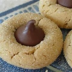 """Peanut Blossoms II I """"This is by far the best recipe for Peanut Blossom Cookies! They come out wonderfully full, tasty and the recipe is easy breezy! An all around winner."""""""